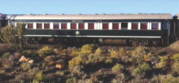 Rovos Rail to Victoria Falls, Hwange & Mana Pools Safari
